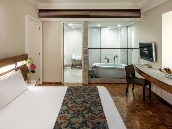 香港如心銅鑼灣海景酒店(L'hotel Causeway Bay Harbour View Hong Kong)豪華套房大床