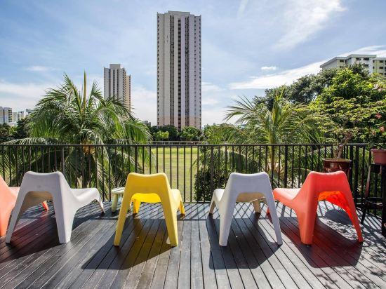 新加坡ABC高級旅舍(ABC Premium Hostel Singapore)室外游泳池