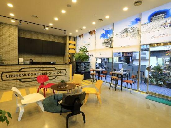 首爾忠武路公寓(Chungmuro Residence & Hotel Seoul)餐廳