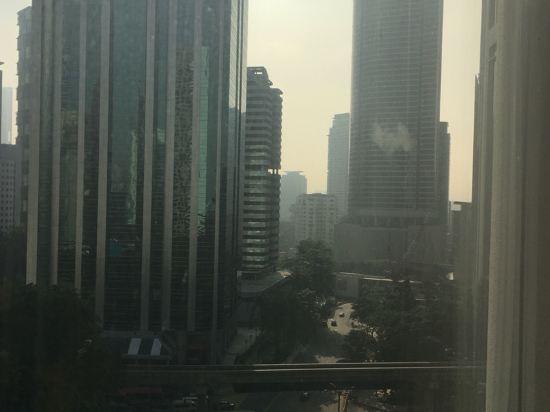吉隆坡帝苑酒店(Hotel Istana Kuala Lumpur)眺望遠景