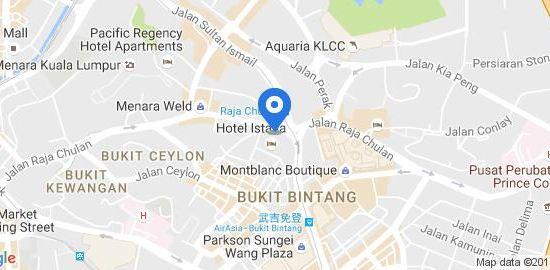 吉隆坡帝苑酒店(Hotel Istana Kuala Lumpur)Google地圖圖片