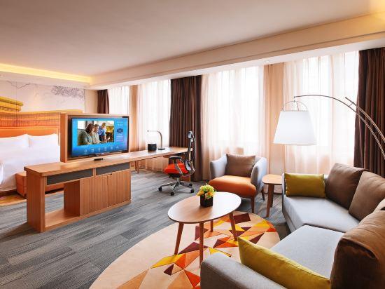上海虹橋國家會展中心希爾頓歡朋酒店(Hampton by Hilton Shanghai Hongqiao Necc)家庭套房