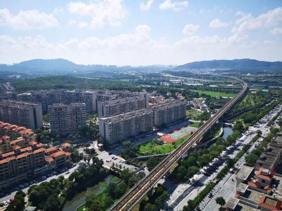 中山南朗希爾頓歡朋酒店(Hampton by Hilton Zhongshan Nanlang)眺望遠景