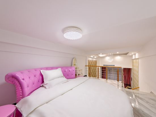 維多利亞公寓(廣州奧園廣場店)(Victoria Apartment (Guangzhou Aoyuan Plaza))複式圓床房