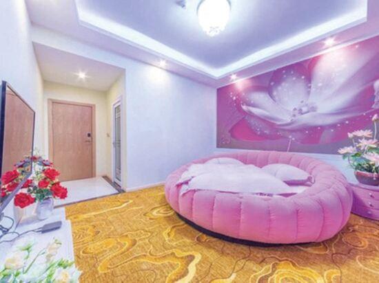 昆明雲鼎大酒店(原中航大酒店)(Yunding Hotel)浪漫情調圓床房