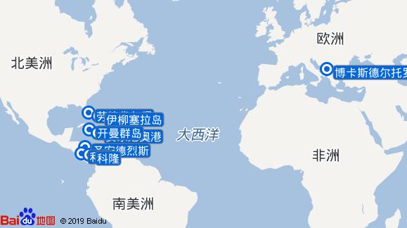 探索者号航线图