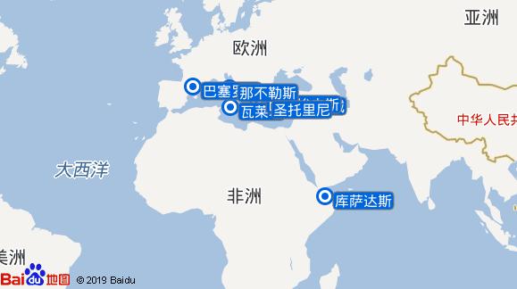 至极号航线图
