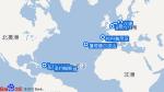 迪瓦号航线图