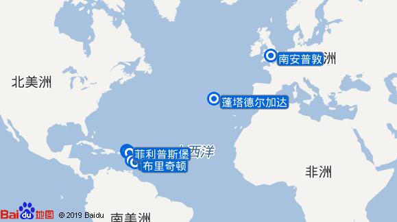 Britannia航线图