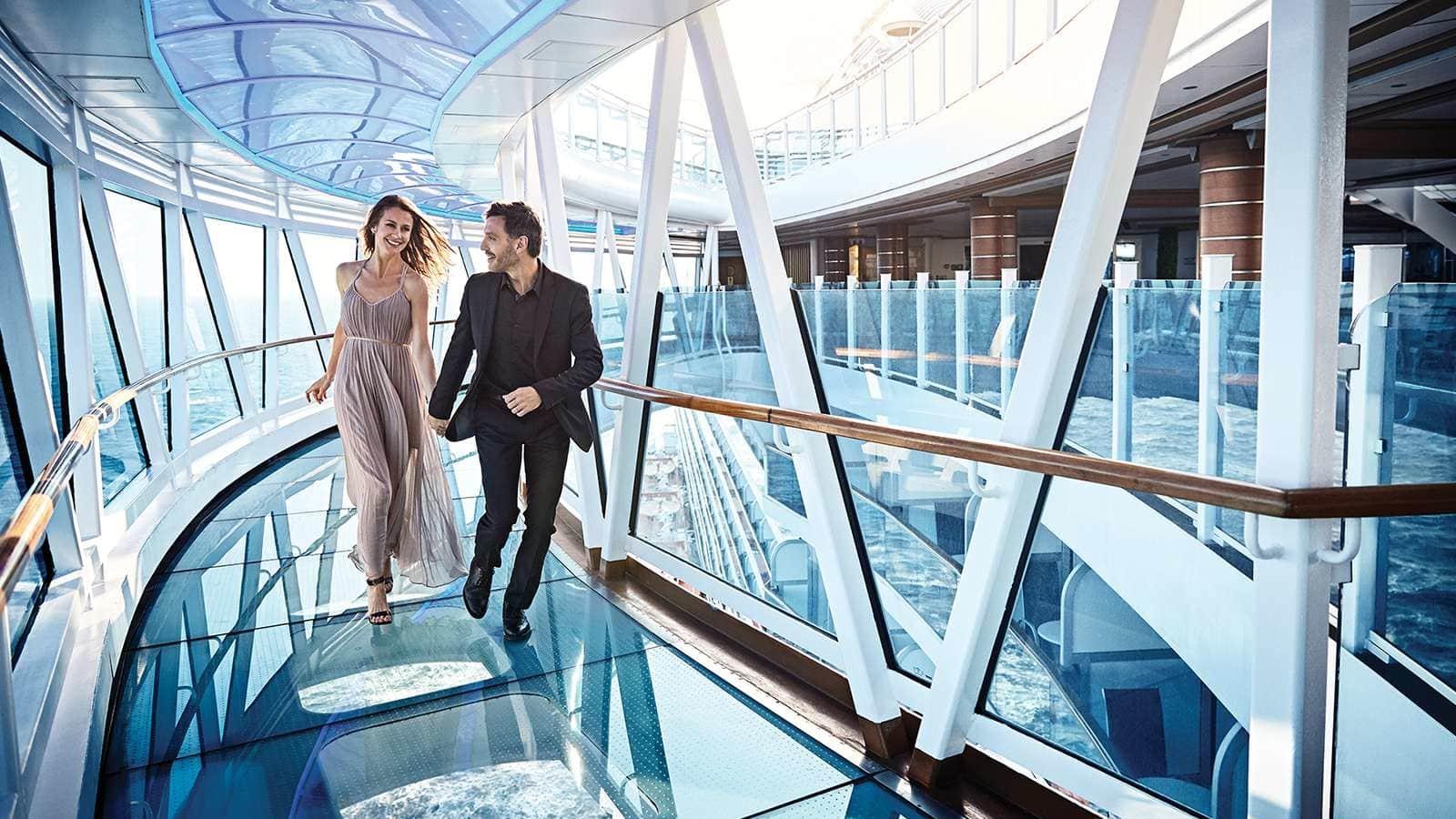 全透明海景廊桥