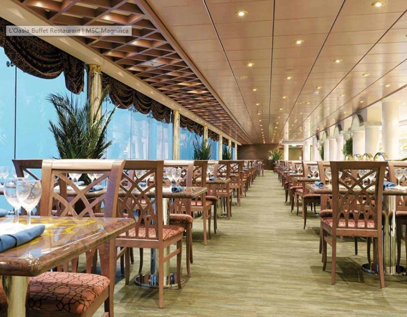绿洲自助餐厅 L'Oasi Buffet Restaurant