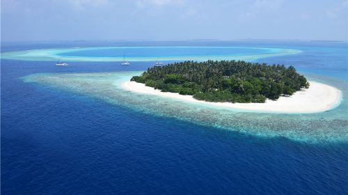 马尔代夫库达班多士岛6日4晚自由行(4钻)·4晚沙屋+全新开业+全餐特惠+快船+浮潜A级