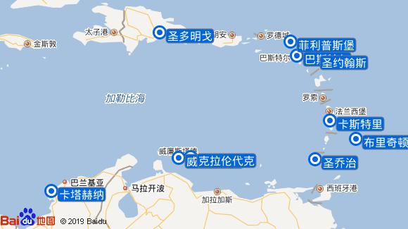 Braemar航线图