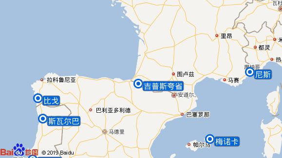 贝洛特号航线图