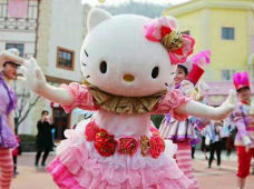 安吉2日1晚跟团游·【亲子嗨玩】Hello Kitty寻回粉色的世界,山水灵峰田园嘉乐比(湖州参团)