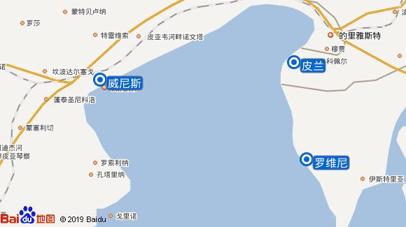 皇家快船号 Royal Clipper航线图