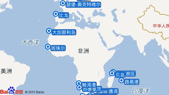 AidaAura航线图