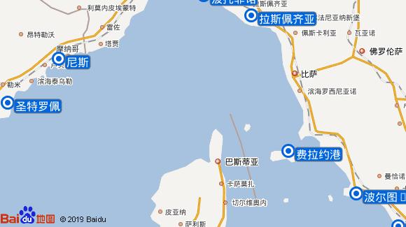 SeaDream II航线图