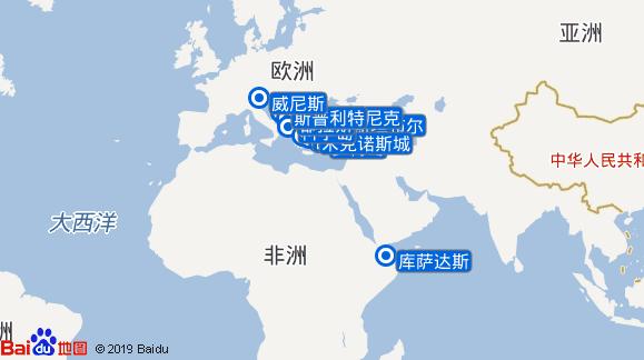 银影号航线图