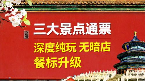 北京5日4晚跟团游(5钻)·HOT爆款 3环5星 12大景点全包+赠杂技VIP席