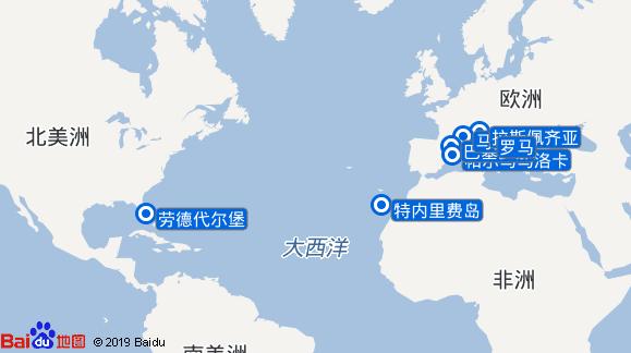 爱极号航线图