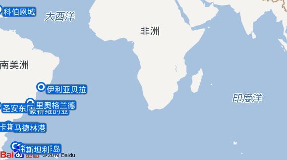 Albatros航线图