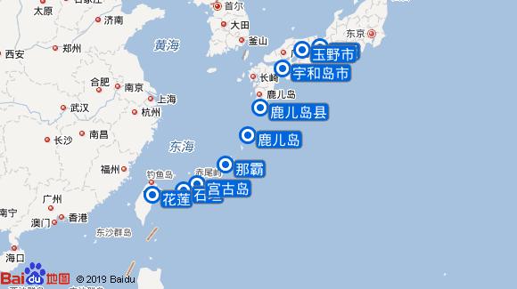 拉普洛斯号航线图