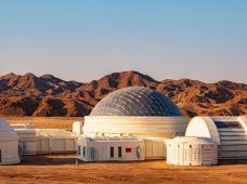 徒步登山·穿越火星主题徒步-2日露营体验,打卡网红景点'火星1号基地'
