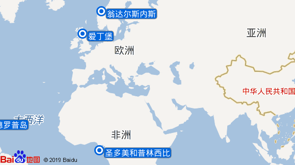 Balmoral航线图