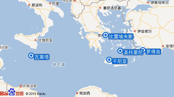 Azura航线图