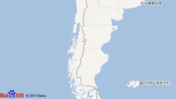北冕号航线图