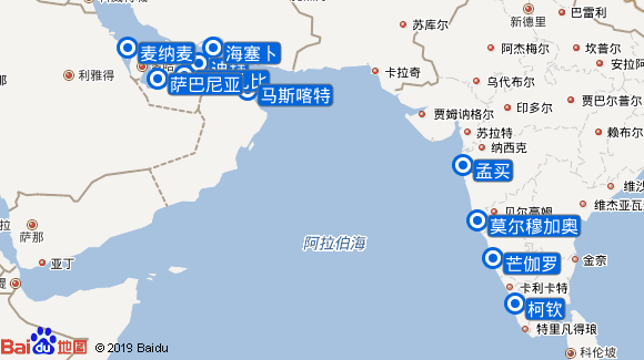 Marella Discovery 2航线图