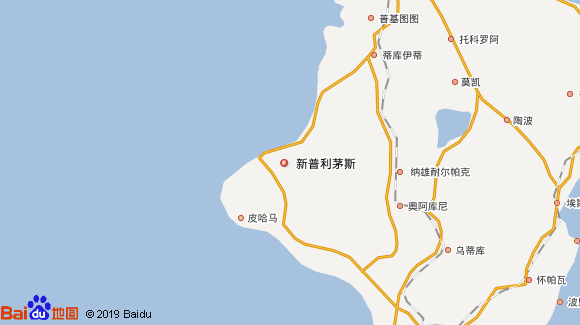 Pacific Explorer航线图
