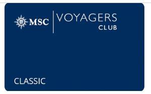地中海航海俱乐部-经典卡会员 MSC Voyagers Club-Classic Membership