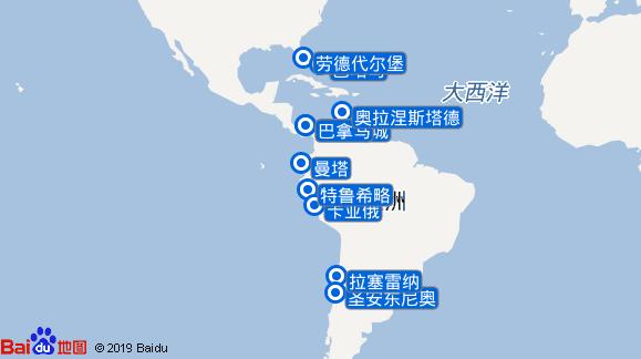 尚丹号航线图