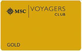 地中海航海俱乐部-金卡会员 MSC Voyagers Club-Gold Membership