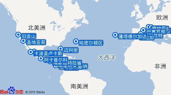 七海水手号航线图