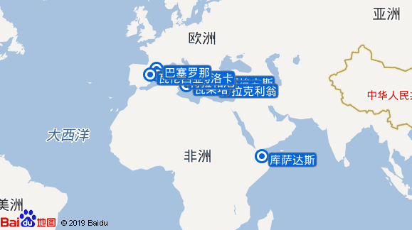 银海精灵号航线图
