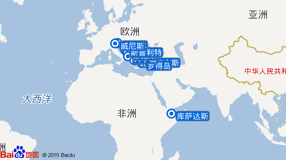 银海幻影号航线图