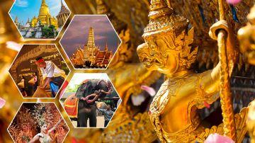曼谷+芭提雅6日5晚跟团游(5钻)·国5喜来登+希尔顿下午茶+摩天轮夜市+光海鲜