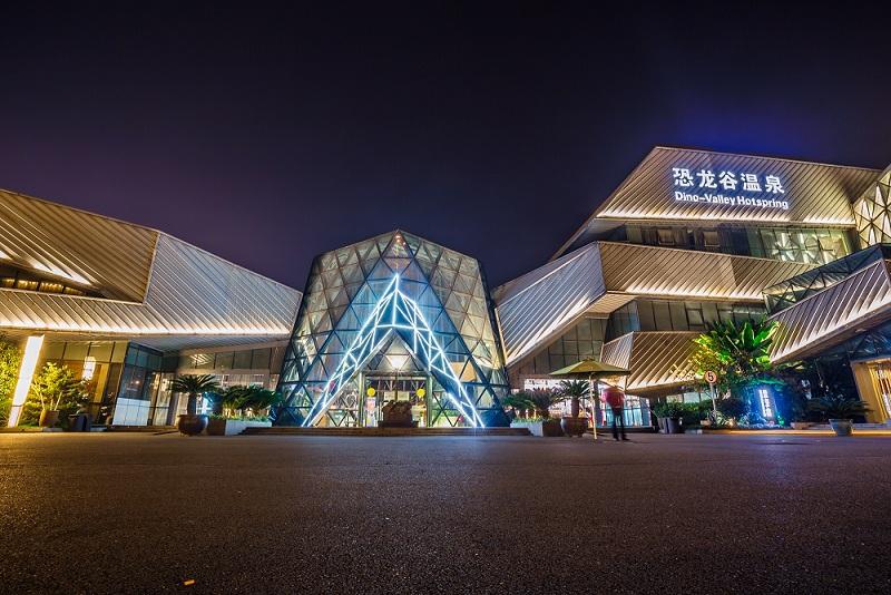 江苏常州2日1晚跟团游 4钻 游中华恐龙园 泡温泉 逛水镇