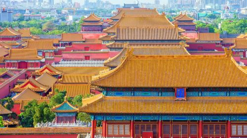 北京颐和园+故宫2日1晚跟团游·【纯玩】颐和园+故宫+后海+升旗+鸟巢水立方