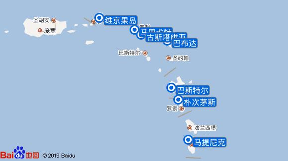 尚普兰号航线图