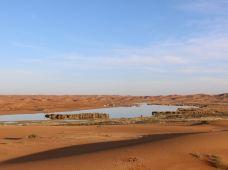 阿拉善左旗腾格里沙漠2日1晚跟团游·沙漠徒步+五湖穿越2日游(无限滑沙+沙漠湖泊划船+越野车沙漠冲浪)
