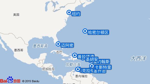 七海领航者号航线图
