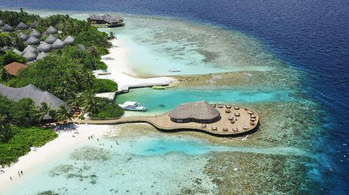 马尔代夫班度士岛6日4晚自由行·奢享④沙+早晚餐+浮潜A级+儿童免吃住+性价高+体验双层沙滩别墅