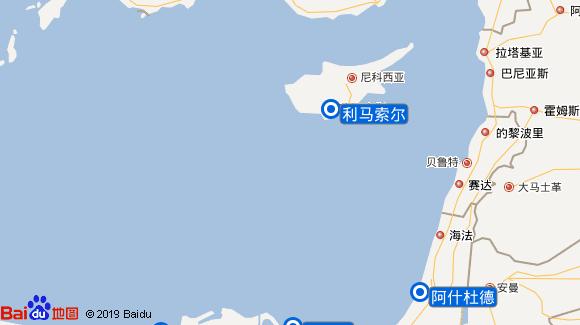 Marella Dream航线图