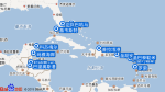 Seven Seas Splendor航线图