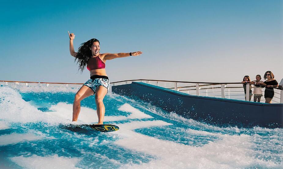 甲板冲浪 Flow Rider