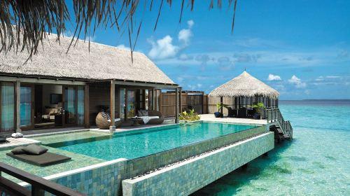 马尔代夫香格里拉岛Shangri-La6日4晚自由行(5钻)·房型可选+可升级早晚餐+接送+穿越赤道体验